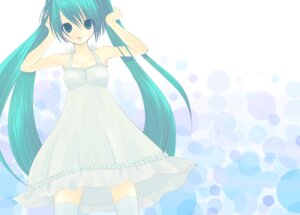 Rating: Safe Score: 11 Tags: dress hatsune_miku vocaloid yuki_(yukiiro) User: charunetra