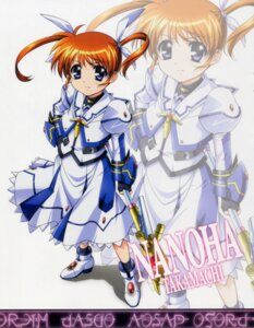 Rating: Safe Score: 10 Tags: bleed_through mahou_shoujo_lyrical_nanoha mahou_shoujo_lyrical_nanoha_the_movie_1st okuda_yasuhiro takamachi_nanoha User: admin2