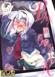 Rating: Questionable Score: 5 Tags: konpaku_youmu megane narumiya pantsu panty_pull touhou User: Radioactive