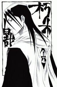 Rating: Safe Score: 5 Tags: bleach kuchiki_byakuya male monochrome User: Radioactive