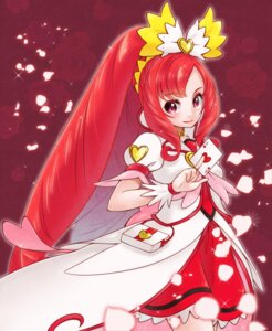 Rating: Safe Score: 7 Tags: dokidoki!_precure dress madoka_aguri pretty_cure yupiteru User: cosmic+T5