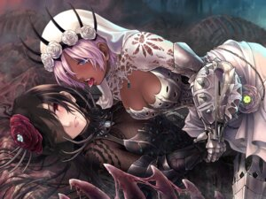 Rating: Safe Score: 25 Tags: armor cleavage monster_hunter_world see_through takekawa_shin yuri User: Mr_GT