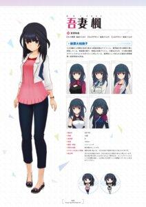 Rating: Questionable Score: 7 Tags: agatsuma_kaede alice_gear_aegis character_design chibi heels seifuku shimada_humikane uniform User: Radioactive