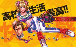 Rating: Safe Score: 25 Tags: chainsaw cheerleader cleavage juliet_starling lollipop_chainsaw thighhighs yamashita_shunya User: Radioactive