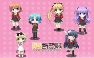 Rating: Safe Score: 15 Tags: akabeisoft2 alpha asami_asami chibi wallpaper w.l.o._sekai_renai_kikou User: yuno