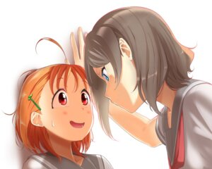 Rating: Safe Score: 20 Tags: love_live!_sunshine!! seifuku takami_chika watanabe_you yuri User: hamasen205