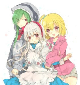 Rating: Safe Score: 17 Tags: kagerou_project kakizato_shinano kido_tsubomi kisaragi_momo kozakura_mary User: Radioactive