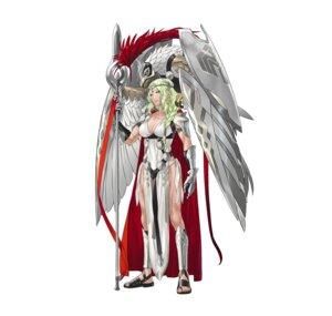 Rating: Questionable Score: 7 Tags: armor cleavage fire_emblem fire_emblem_heroes kozaki_yuusuke nintendo nott_(fire_emblem) pantsu string_panties weapon User: fly24