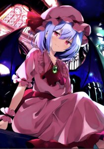 Rating: Safe Score: 39 Tags: dress hyurasan remilia_scarlet touhou wings User: 蕾咪
