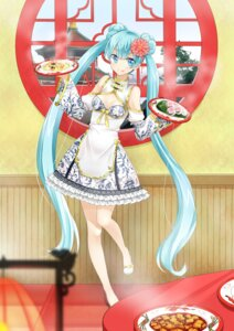 Rating: Safe Score: 45 Tags: agonasubi cleavage dress hatsune_miku vocaloid User: Mr_GT