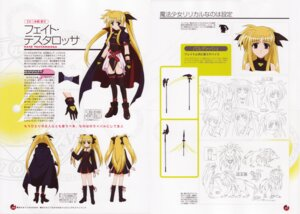 Rating: Safe Score: 7 Tags: character_design fate_testarossa mahou_shoujo_lyrical_nanoha User: Onpu