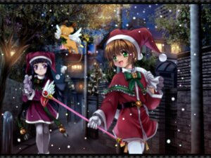 Rating: Safe Score: 9 Tags: card_captor_sakura christmas daidouji_tomoyo kerberos kinomoto_sakura moonknives wallpaper User: blooregardo