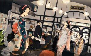 Rating: Safe Score: 30 Tags: kimono toinana waitress User: Radioactive