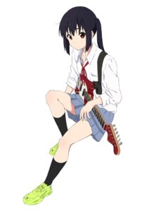 Rating: Safe Score: 14 Tags: guitar k-on! nakano_azusa sakurayama_(59_sakurayama) seifuku skirt_lift User: Dreista