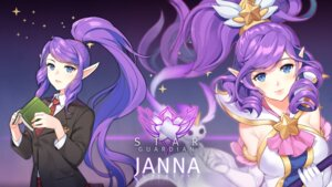 Rating: Safe Score: 24 Tags: dakun janna_windforce league_of_legends pointy_ears seifuku wallpaper User: charunetra