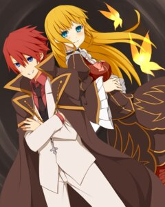 Rating: Safe Score: 9 Tags: beatrice dress nemu_(artist) umineko_no_naku_koro_ni ushiromiya_battler User: ghoulishWitchhx