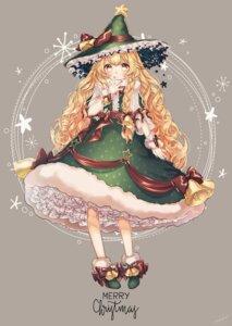 Rating: Safe Score: 27 Tags: christmas dress kirisame_marisa mokokiyo_(asaddr) touhou witch User: Mr_GT