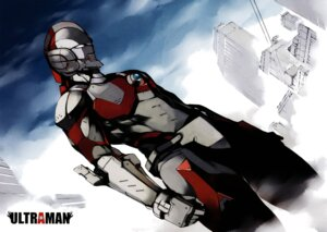 Rating: Safe Score: 6 Tags: shimoguchi_tomohiro sword ultraman User: Arkheion