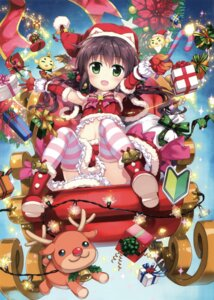 Rating: Safe Score: 32 Tags: animal_ears christmas fujima_takuya tagme thighhighs User: Twinsenzw