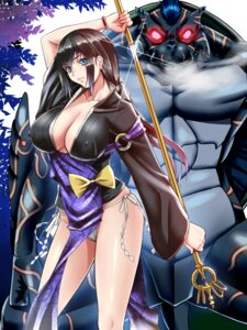 Rating: Questionable Score: 41 Tags: cleavage erect_nipples fundoshi no_bra suuitchi User: donicila