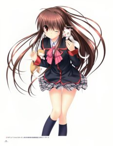 Rating: Safe Score: 9 Tags: key little_busters! na-ga natsume_rin possible_duplicate seifuku User: marechal