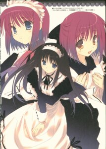 Rating: Safe Score: 10 Tags: hisui kohaku maid tagme toono_akiha tsukihime User: Radioactive