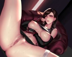 Rating: Explicit Score: 175 Tags: breast_hold breasts cianyo final_fantasy final_fantasy_vii nipples nopan pubic_hair pussy pussy_juice shirt_lift tifa_lockhart uncensored User: Mr_GT