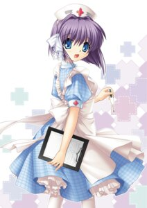 Rating: Safe Score: 6 Tags: clannad fujibayashi_ryou hinoue_itaru key nurse User: marechal