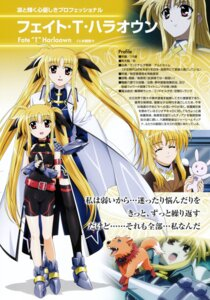 Rating: Safe Score: 5 Tags: fate_testarossa mahou_shoujo_lyrical_nanoha mahou_shoujo_lyrical_nanoha_strikers profile_page thighhighs User: noirblack
