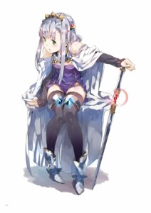 Rating: Safe Score: 65 Tags: armor digital_version dress outbreak_company petralka_anne_eldant_iii thighhighs weapon yuugen User: Twinsenzw