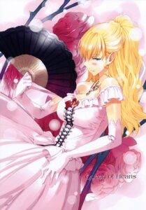 Rating: Safe Score: 29 Tags: alice_in_wonderland cleavage dress fancy_fantasia queen_of_hearts ueda_ryou User: Chrissues
