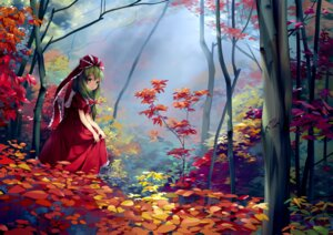 Rating: Safe Score: 38 Tags: chen_bin dress kagiyama_hina landscape touhou User: Mr_GT