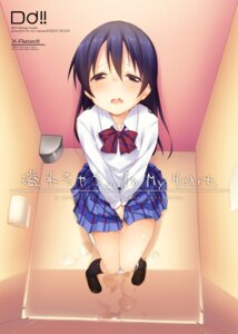 Rating: Explicit Score: 88 Tags: love_live! minase_shuu pantsu pee seifuku shimapan sonoda_umi User: fairyren