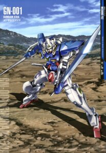 Rating: Safe Score: 17 Tags: arisawa_hiroshi gundam gundam_00 gundam_exia mecha sword User: Radioactive