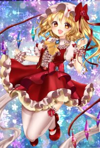 Rating: Safe Score: 32 Tags: flandre_scarlet shanghai_bisu thighhighs touhou wings User: charunetra