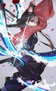 Rating: Safe Score: 65 Tags: japanese_clothes kamado_nezuko kimetsu_no_yaiba sword vardan User: Keethaux