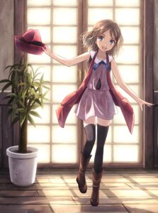 Rating: Safe Score: 69 Tags: pokemon pokemon_xy serena_(pokemon) thighhighs yakka User: fairyren