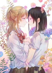 Rating: Safe Score: 13 Tags: aihara_mei aihara_yuzu_(citrus) citrus_(manga) seifuku tommy yuri User: Spidey