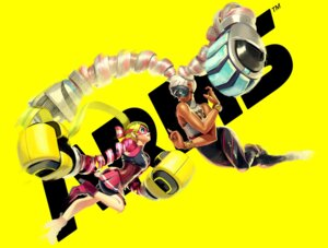 Rating: Safe Score: 12 Tags: arms bike_shorts heels nintendo ribbon_girl twintelle_(arms) weapon User: fly24