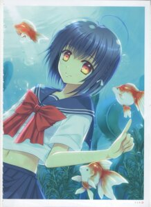 Rating: Questionable Score: 4 Tags: fixme nishimata_aoi raw_scan User: netteens