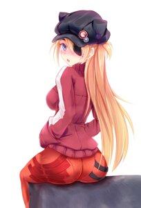 Rating: Safe Score: 51 Tags: ass bodysuit eyepatch minazuki neon_genesis_evangelion souryuu_asuka_langley User: fairyren