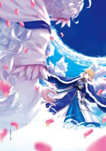 Rating: Safe Score: 10 Tags: armor dress fate/stay_night merlin_(fate/stay_night) saber tagme User: kiyoe