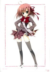 Rating: Safe Score: 13 Tags: inugami_kira sakurano_kurimu seifuku seitokai_no_ichizon thighhighs User: WtfCakes
