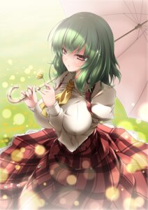 Rating: Safe Score: 38 Tags: breast_hold kazami_yuuka shinzo_midori touhou User: Mr_GT