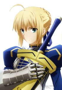 Rating: Safe Score: 15 Tags: fate/stay_night fate/zero itagaki_atsushi saber sword User: Radioactive