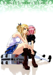 Rating: Safe Score: 15 Tags: fairy_tail heels lucy_heartfilia maid mashima_hiro pantyhose virgo_(fairy_tail) User: Brufh