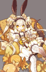 Rating: Questionable Score: 12 Tags: cleavage horns kaki_gohri loli no_bra tagme tail thighhighs User: seshmaru