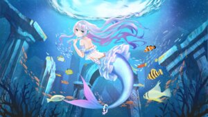 Rating: Safe Score: 19 Tags: bikini_top doris_(hololive) hololive hololive_china mermaid monster_girl qi_xuan swimsuits tail User: Material3600
