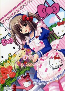 Rating: Safe Score: 17 Tags: hello_kitty nishimata_aoi thighhighs waitress User: Share