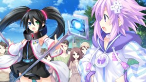 Rating: Safe Score: 27 Tags: choujigen_game_neptune dress game_cg heterochromia neptune sega_hard_girls sega_saturn_(sega_hard_girls) tsunako weapon User: Nepcoheart